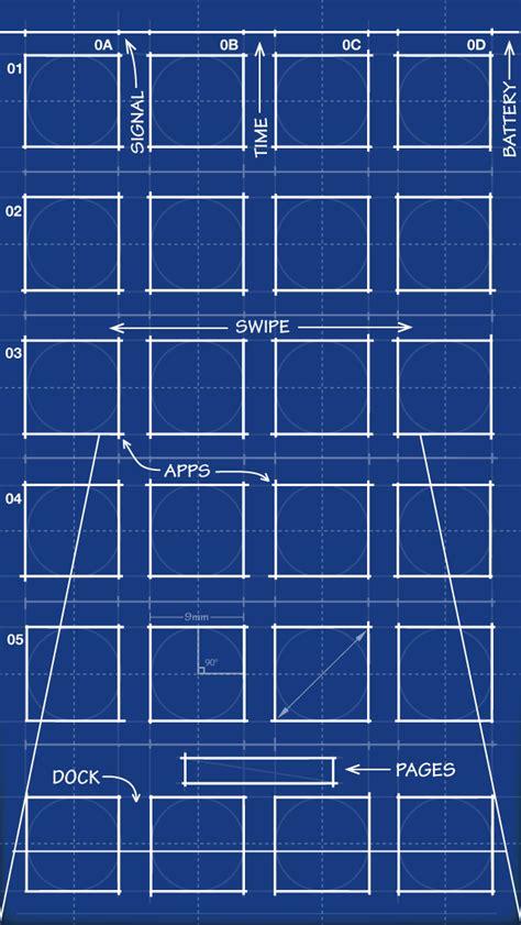 iphone  blueprint wallpaper   mrdude