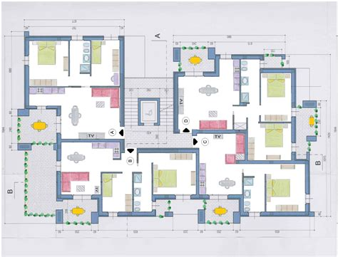 pianta appartamento dwg appartamenti tipo b edilizia nunziatini immobili in