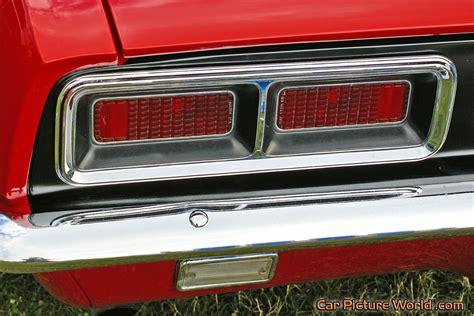 1968 camaro lights 1968 ss 396 camaro lights picture
