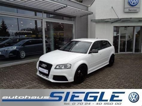 Audi Wendlingen audi rs3 sportback s tronic abt power s in wendlingen am