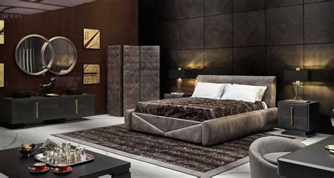 brando bed smania wood furniture biz