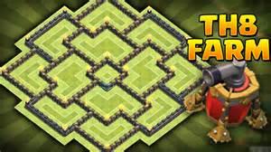 Best Clash Of Clans Th8 Anti Hog Unlurable Cc War Trophy Base Layout » Home Design 2017