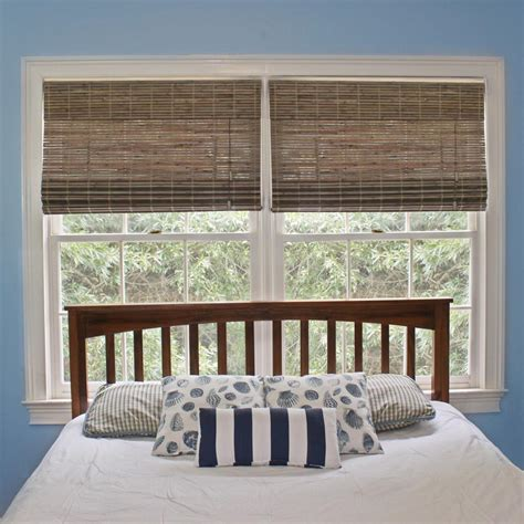 home decorator blinds home decorators collection driftwood flatweave bamboo