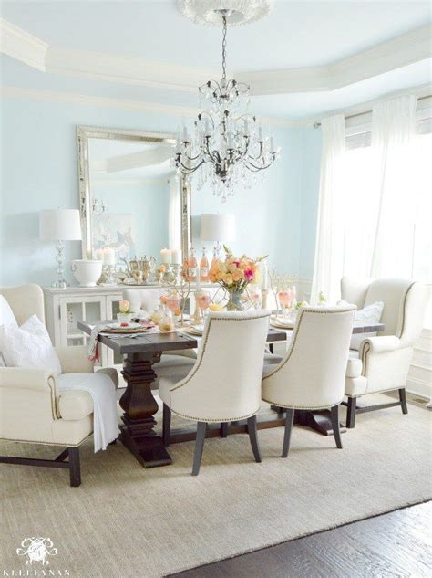 furniture dining room clear white chandelier for elegant 1000 ideas about blue dining rooms on pinterest dining