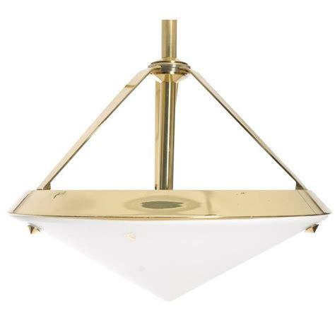 shaped light fixture pyramid shaped pendant light fixture at 1stdibs