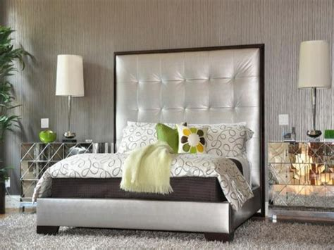 extra tall upholstered bed shocking wingback tufted king size queen full wing  home interior