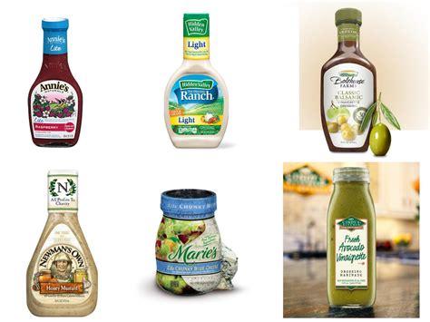 best salad dressing recipe taste test healthy salad dressings food network food