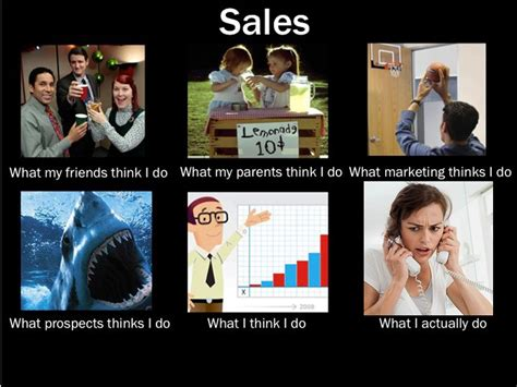 What My Friends Think I Do Meme - what my friends think i do sales what my friends think i