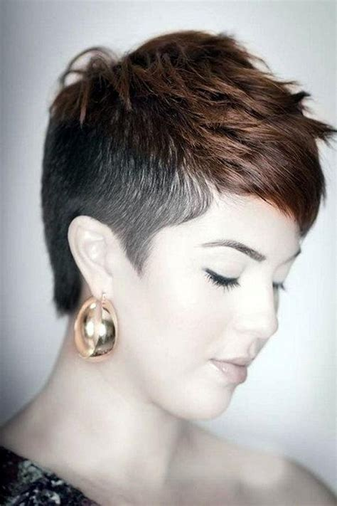 short hairstyle with shorter one side 2018 popular short hairstyles one side shaved