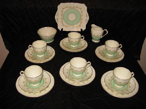 art deco china for sale antiques atlas tuscan china 1930s tea set