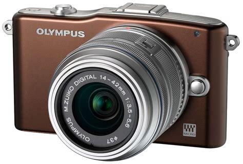 Kamera Olympus Pen test av olympus pen mini e pm1 kamera bild