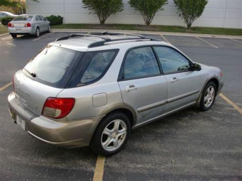 buy used 2003 subaru impreza outback sport wagon 2 5l low 54 000 miles awd great car in