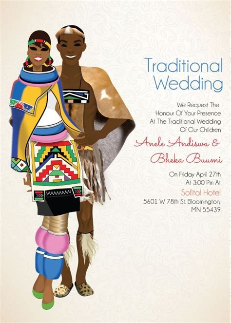 hindu wedding invitations south africa ngiyakuthanda ndebele south traditional wedding