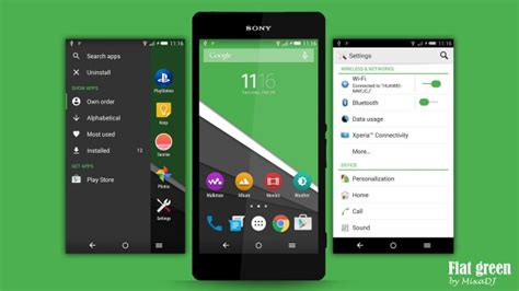 xperia themes apk no root new flat xperia themes available in various colours
