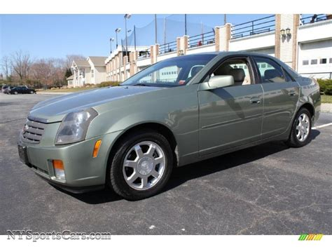 2004 cadillac cts sedan 2004 cadillac cts sedan in silver green 109207