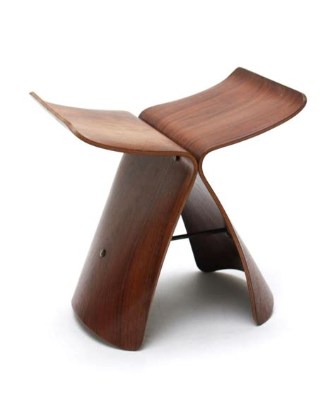 Tabouret Butterfly Sori Yanagi by Galerie Alexandre Guillemain Artefact Design Sori