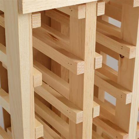 world market wine cabinet pine 24 bottle wine rack world market