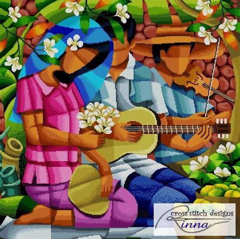 layout artist in tagalog harana song of violin and guitar a filipino art in cross