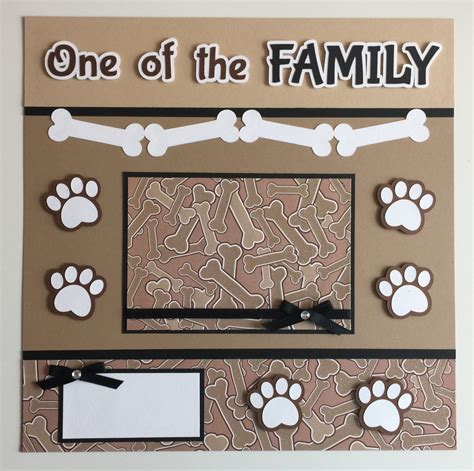 12x12 scrapbook templates handmade premade 12x12 one of the family