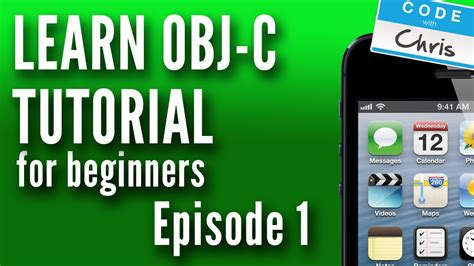 programming c tutorial beginners objective c tutorial for beginners episode 1 variables
