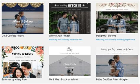 The Best Wedding Websites & How To Select The Perfect