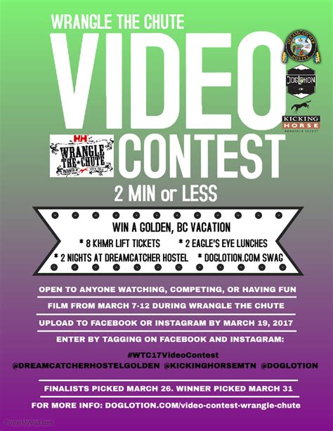 contest template flyers for contest flyers www gooflyers