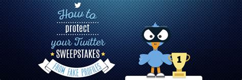 Twitter Sweepstakes - organize fair twitter sweepstakes