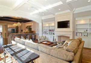 photos of luxury home family rooms and living rooms by