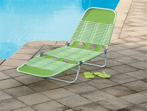 pvc chaise lounge chair essential garden pvc chaise lounge green outdoor living