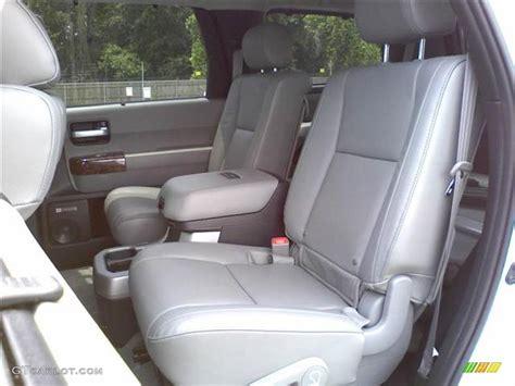 2008 toyota sequoia platinum 4wd interior color photos