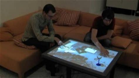 ecran tactile pc bureau cristal transforme votre table basse en une t 233 l 233 commande
