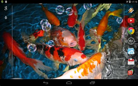 koi live wallpaper pro apk koi live wallpaper android apps on play