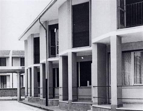 ina casa villaggio ina casa arquitectura italiana posguerra