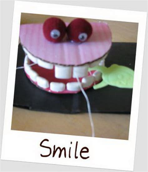 teeth crafts for tooth craft ideas family net guide to