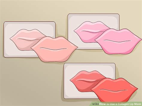 Collagen Lip Mask how to use a collagen lip mask 7 steps with pictures