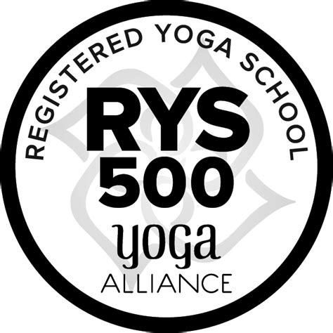 Registered School - 500 hour standards alliance