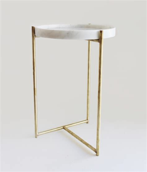 marble brass side table oliver marble tray side table brass side tables from