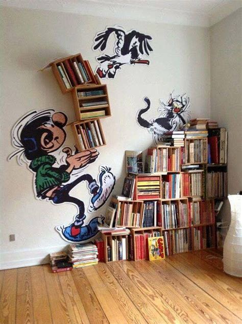 idea bookshelves best 25 creative bookshelves ideas on