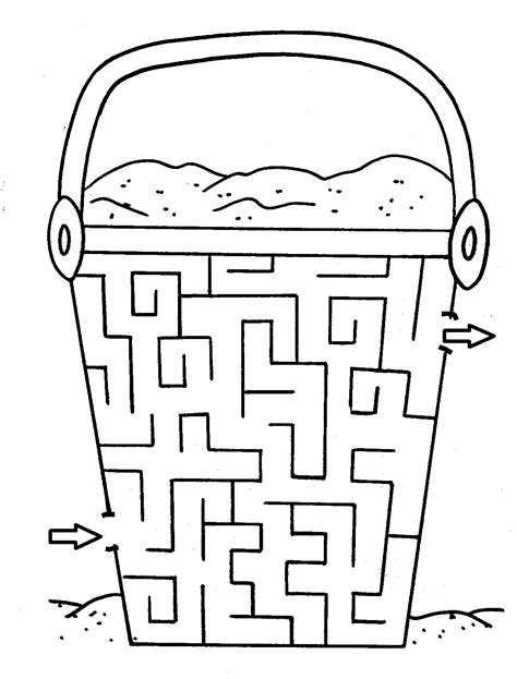 Maze Coloring Part 9 Seasons Pinterest Maze Free Printable Coloring Pages And Activities