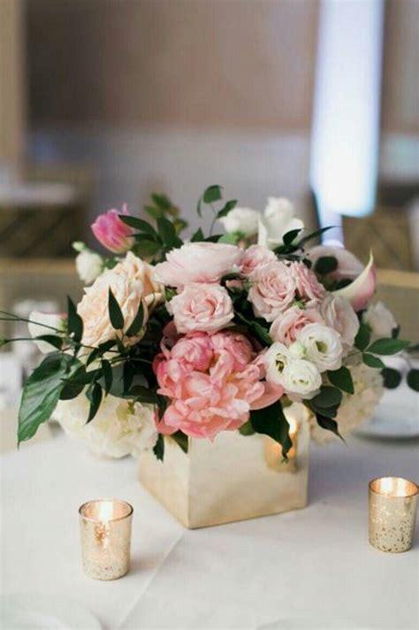 small flower arrangements centerpieces square vase candle setup becomingthesonnys