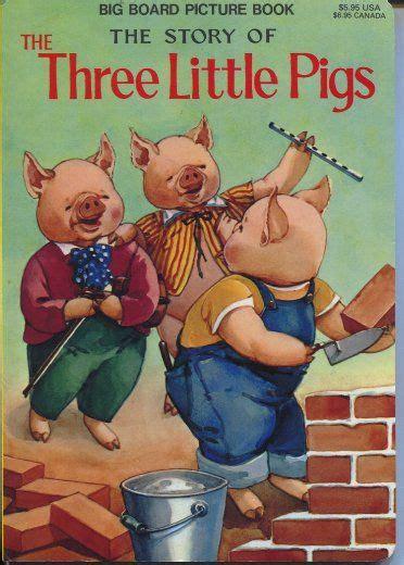 Children S Books Three Pigs And Minion vintage childrens boook the three pigs classic childrens books