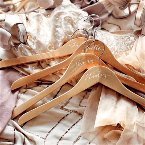 Hanger Diy - diy personalized bridesmaids hangers once wed