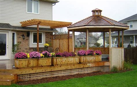 how to design a deck for the backyard home exterior renovation ideas gallery pioneer craftsmen