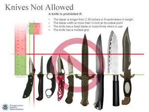 Benchmade Kitchen Knives The Tsa Blog Small Pocket Knives And Sporting Goods Items