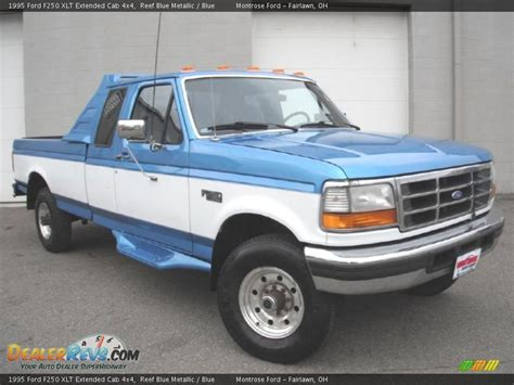 1995 Ford F250 by 1995 Ford F250 Xlt Extended Cab 4x4 Reef Blue Metallic