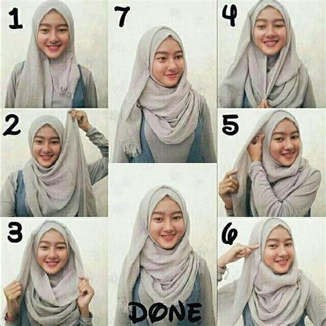 pashmina rawis hijab tutorial