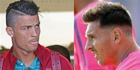 Model Rambut Messi by Foto Gaya Rambut Cristiano Ronaldo Dari Tahun Ke Tahun