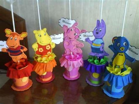 xícaras decoradas flores centros de mesa backyardigans para cumplea 241 os infantiles