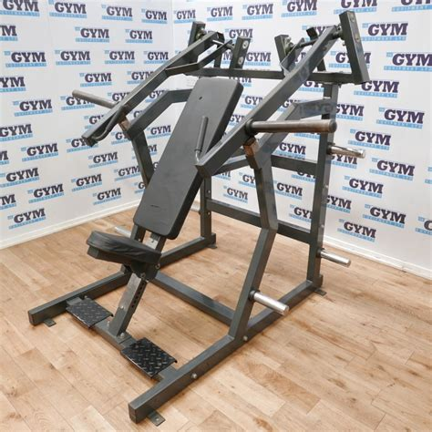 used plate loaded incline chest press strength