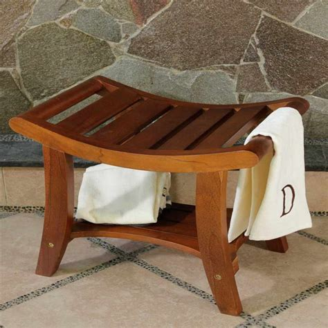 cedar shower bench bloombety cedar shower bench with stone wall why buying